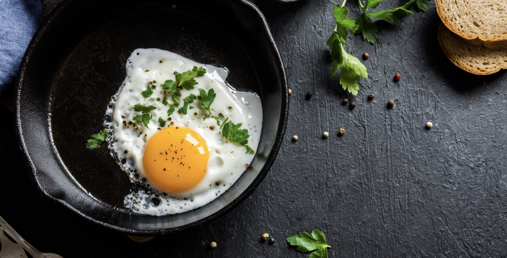 Image - Canva, eggs in a pan