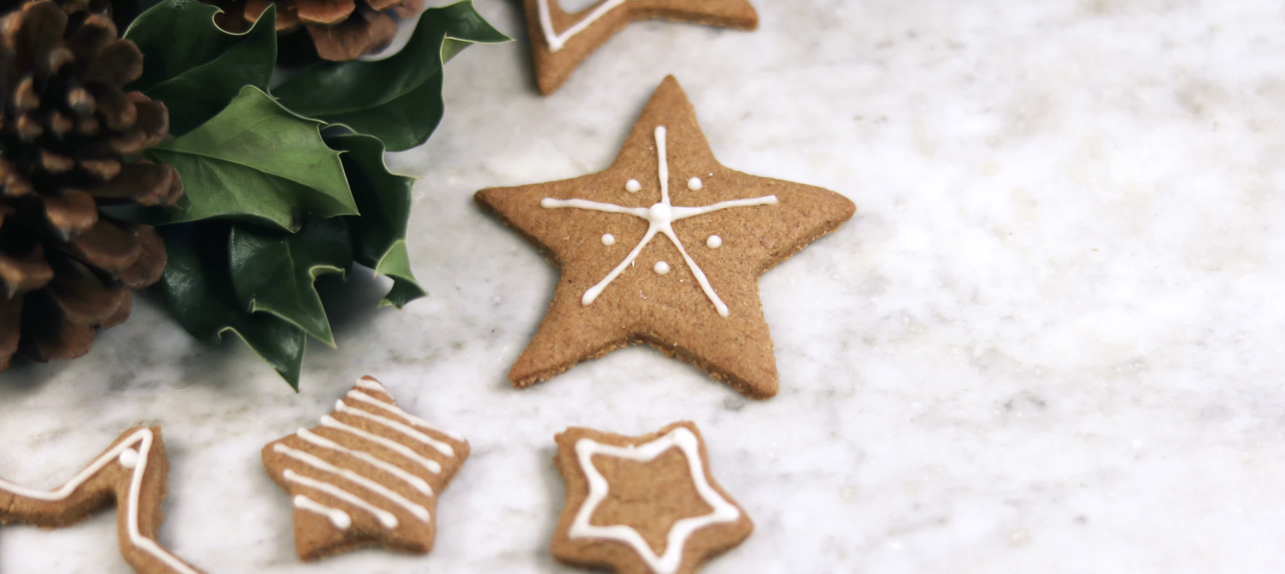 gingerbread cookies. Unsplash - Lydia Matzal