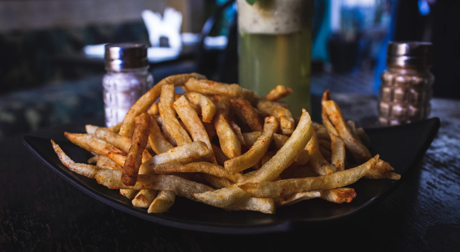 French fries to represent the American standard diet of processed food